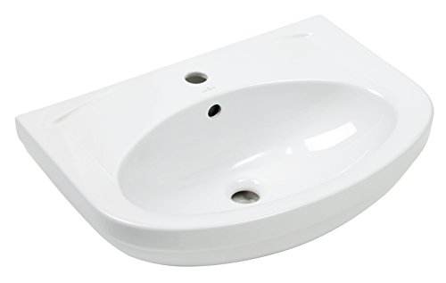 Preisvergleich Produktbild Waschtisch Lobo | 60 cm | Weiß | Waschbecken