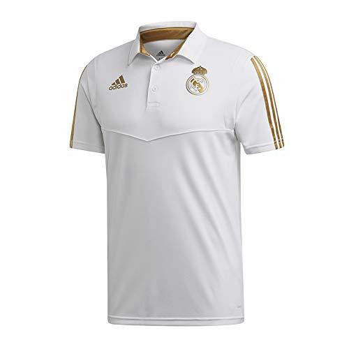 adidas Performance Real Madrid Poloshirt Herren weiß/Gold, M