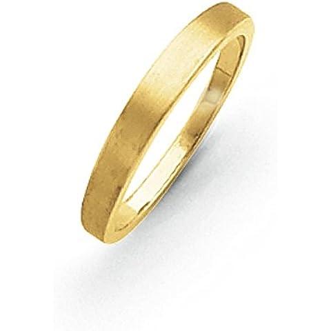 14K oro 3mm Tapered nastro di raso–Anello Anello Serie Opzioni Dimensioni: h a P