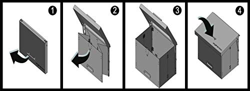 anytime Box – faltbarer Paketkasten aus Stahl - 6