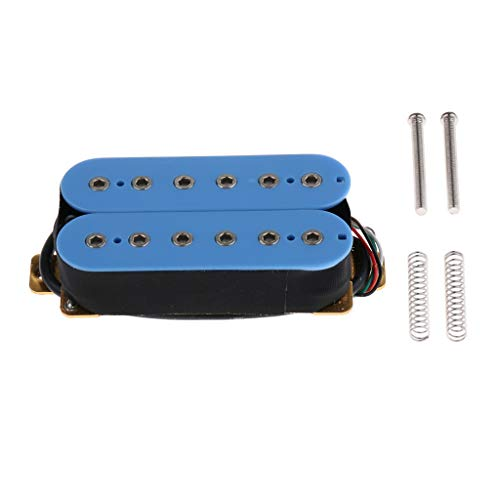 Sharplace Pastilla Humbucker para Guitarra Electrica Lp Les Paul Piezas de Repuestos - Azul, tal como se describe