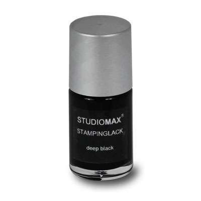 Stampinglack deep black 4 ml