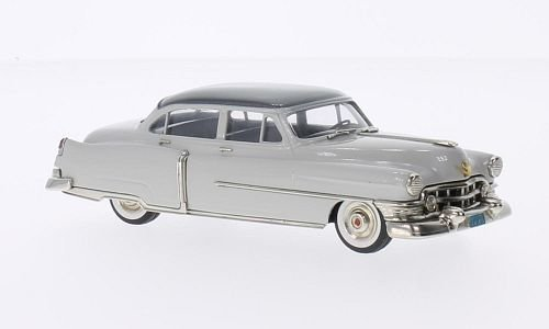 Cadillac Series 62, 4-door Sedan, hellgrau/metallic-dunkelgrau, 1952, Modellauto, Fertigmodell, Brooklin 1:43