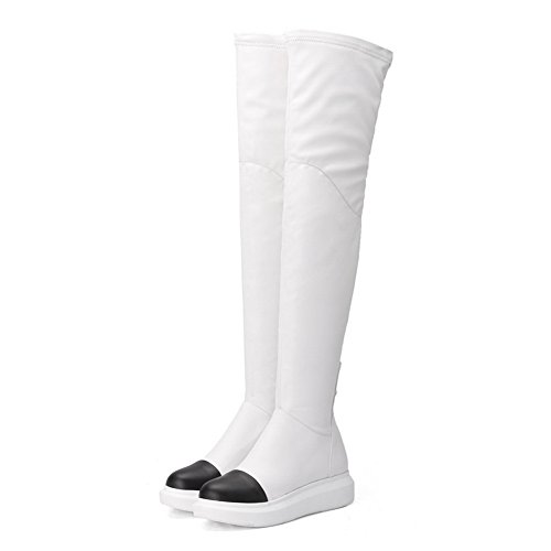 Balamasa - Botas Blancas De Mujer Chukka