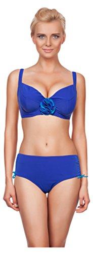 Merry Style Bikini Oberteil mit Bügel Sun Dunkelblau