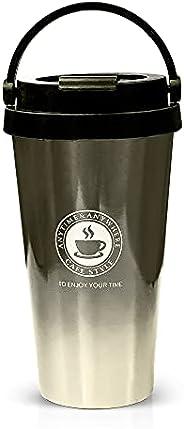 Coffee Mug, Stainless Steel Coffee Cup, Vacuum Flask, Travel Mug for Coffee Tea and Cold Drinks