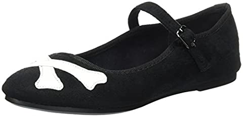 Iron Fist Women's Hey You Guys Chinese Slipper Platform Heels,