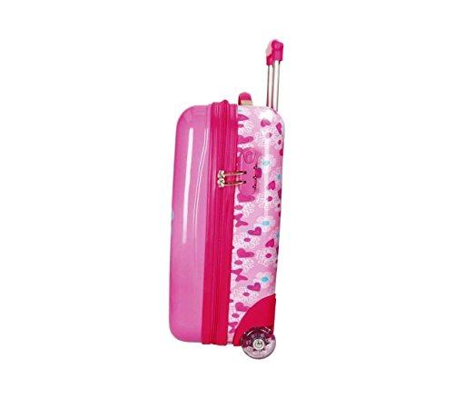 31cJpMUfpDL - 2890351 Maleta trolley rigida en ABS equipaje de mano MINNIE MOUSE 42x67x24cm