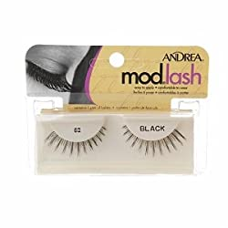 ANDREA Strip Lashes, Black, Style 62