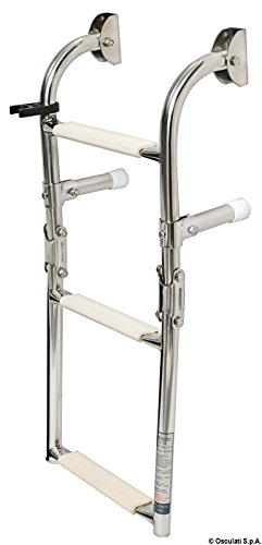 S.S transom ladder 3 steps Test