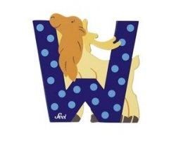 Sevi Alphabet Buchstaben Graffiti Animal, Buchstabe Wapiti W