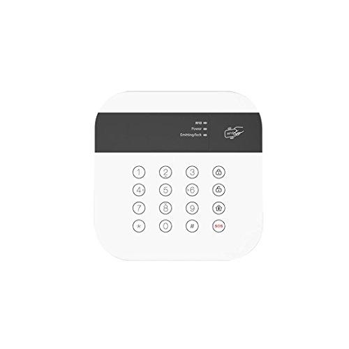 Safe2Home® Tastenfeld für Funk Alarmanlage Safe2Home SP110 / SP210 - GSM Alarmsytem - Bedienteil mit RFID Reader - Tastatur -