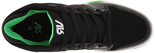 DC Ryan VillopotoBgn Herren Sneakers Mehrfarbig (Black/Green- Bgn)