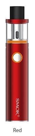 SMOK Vape Pen 22 kit 1650 mAh batería E-Cigarette (Rojo) Smoktech, Este producto no contiene nicotina o tabaco
