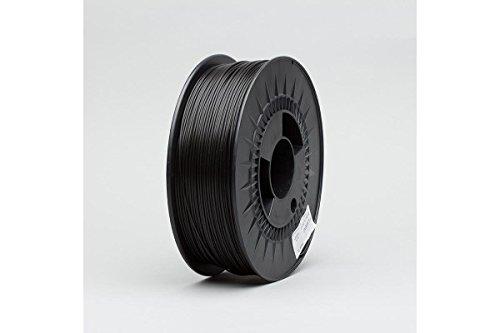 Digitalrise® PETG ø1.75mm 3D Drucker Filament, Farbe: SCHWARZ (RGB 000:000:000) - Made in EU - beste Qualität zum Superpreis!