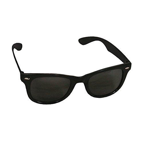 ILOVEFANCYDRESS 200 Schwarze Plastik Brillen GESTELLEN MIT GLÄSSER=GROßHANDEL=GESCHÄFTE=VEREINE=Gruppen=DAS PERFEKTE ZUBEHÖR FÜR Jede Art DER VERKLEIDUNG=DER Absolute Schlager