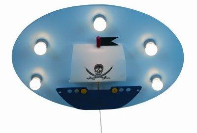 Niermann Kinderlampe Deckenleuchte Piratenschiff