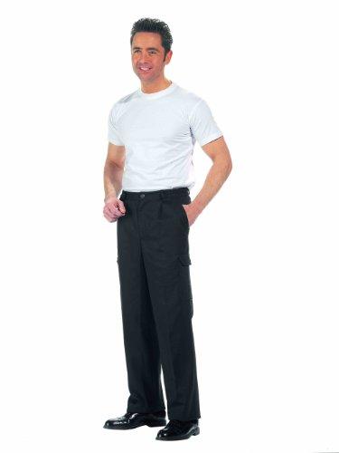 Leiber Pantalon cargo Noir - Noir