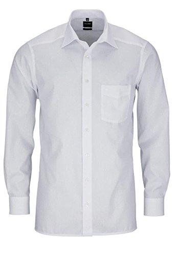 """Olymp Herren Hemd """"Modern Fit"""" extralange Ärmel Weiß"""