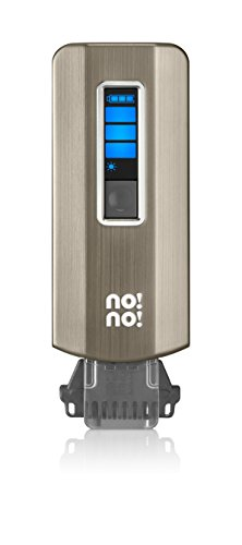 no!no! Pro Hair Removal Device for Face and Body, Chrome