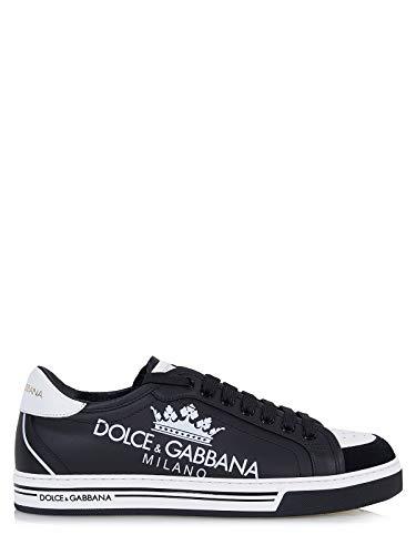 Dolce & Gabbana Roma Sneaker aus Bedrucktem Kalbsleder - 43(DE) / 43(IT) / 43(EU)