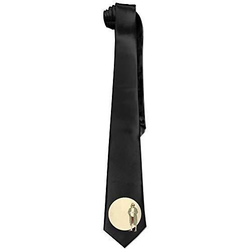 The Big Lebowski Men's Skinny Tie Trendy Necktie Ties - Big Mens Down Vest