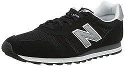 New Balance Herren ML373 Sneaker,, Schwarz (Black/ML373GRE)), 45.5 EU
