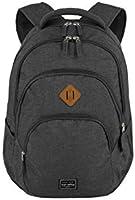 travelite Rucksack Handgepäck mit Laptop Fach 15,6 Zoll, Gepäck Serie BASICS Daypack Melange: Modischer Rucksack in...