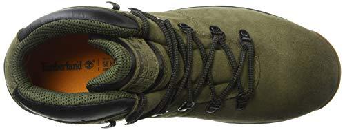 Timberland Men s World Hiker Mid Dark Olive Suede Boot 41EU 8UK Dark Olive