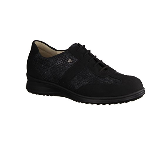 FinnComfort Lazio 02223901492 femmes Chaussures à lacets Schwarz