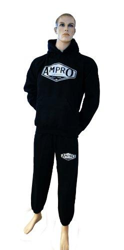 Ampro polar Chándal aérea Londres clásico Negro negro Talla:small