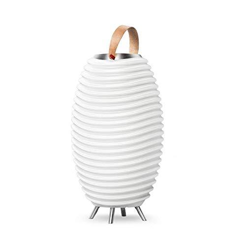 Vielseitige LED Stehlampe KOODUU Synergy 65S, Bluetooth Lautsprecher & Getränkekühler - Dekoleuchten der exklusiven Art