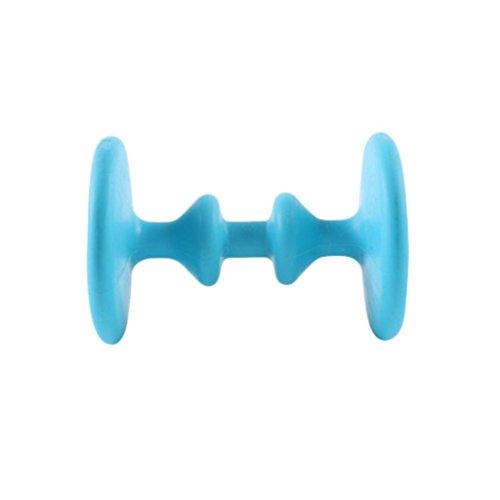 Upxiang Fußrad Massager, Entlasten Plantar Fasciitis, Ferse, Fußbogenschmerzen Stress, Akupressur Reflexologie-Werkzeug, Entspannung Fußrad Massage (Blau) -