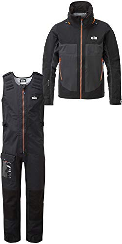 Gill Mens Race Fusion Jacket RS23 & Salopettes RS25 Black Size - XXL - Mens Fusion Jacke