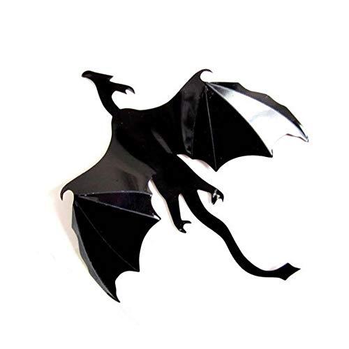 YUSDK wandaufkleber wandkunst 7 Teile/Satz Halloween Fantasie Dekor Dinosaurier Jungen Zimmer Game of Thrones 3D Drachen Wandkunst Aufkleber Wandaufkleber (Zimmer Dinosaurier Dekor)