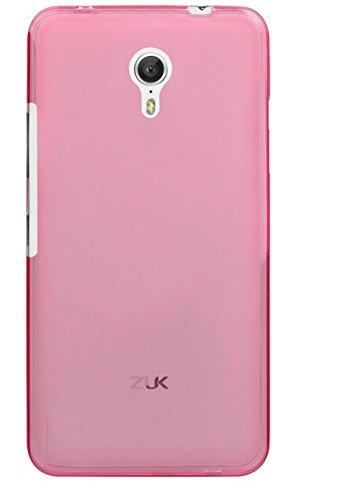 caseroxx TPU-Hülle für ZUK Z1, Tasche (TPU-Hülle in pink)