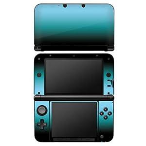 DeinDesign Skin kompatibel mit Nintendo 3 DS XL Aufkleber Sticker Folie Blue Blau Black