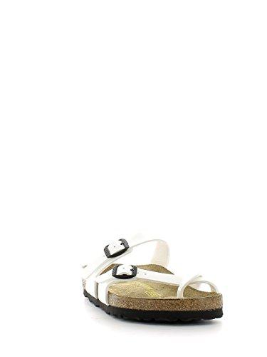 Birkenstock mayari 071223, Damen Zehentrenner Weiß