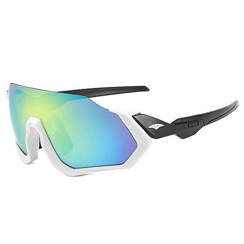 kamier Sonnenbrille Sonnenbrille Fahrradsport Outdoor Sonnenbrille Herren Sonnenbrille Reitbrille Goldfigur
