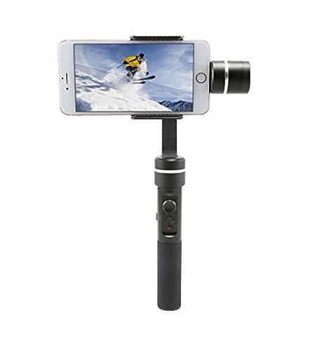 Eyes4u Feiyu SPG Live 3 axe brushless caméra portative cardan pour smartphone avec contrôle et stabilisateur du contrôle caméra bouton bluetooth et la discussion la fonction