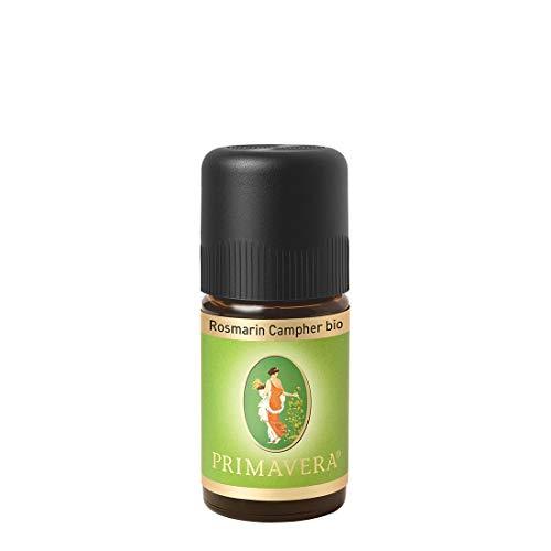PRIMAVERA Ätherisches Öl Rosmarin Campher bio 5 ml - Aromaöl, Duftöl, Aromatherapie - aktivierend, stimulierend - vegan