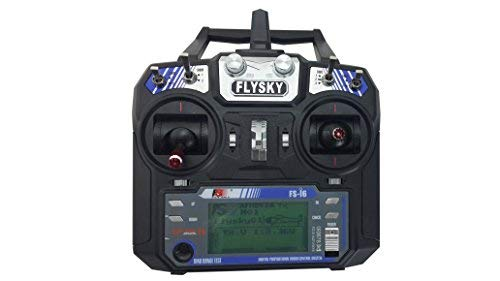 SM Flysky FS-i6 2,4 G 6 CH transmitter and receiver LCD screen system for RC Helicopter New arrival newest version