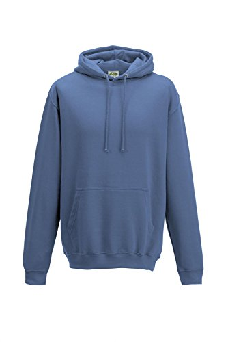 Just Hoods College Hoodie Bleu - Cornflower