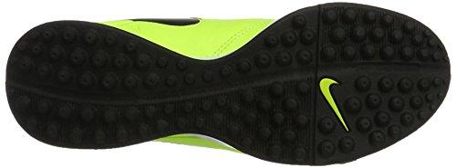 Nike - Tiempox Genio Ii Leather Tf, Scarpe da calcio Uomo Giallo (Volt/black-volt)
