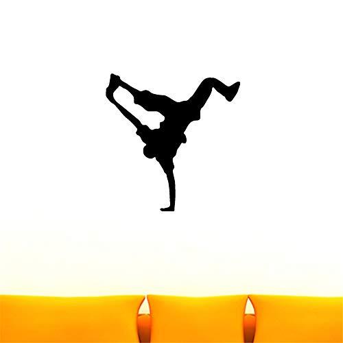 mmer Hip-Hop-Tänzer für Wohnzimmerschlafzimmermusikraum-Tanzraum ()