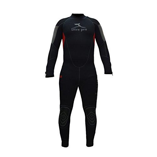 DivePro Manta 5mm Halbtrocken-Tauchanzug (Herren), Größe:3XL