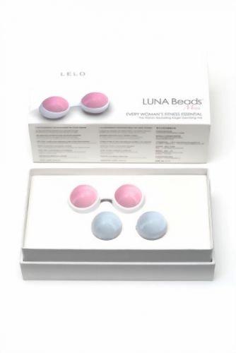 Geisha Kugeln & Ben Wa Balls - 29 mm Geisha Kugeln Lelo Luna Beads Mini Liebeskugeln
