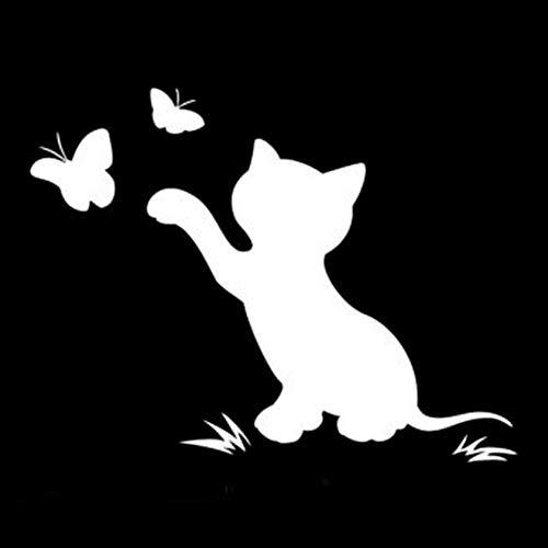 Dandeliondeme Lustige Katze Schmetterling LKW Auto Aufkleber