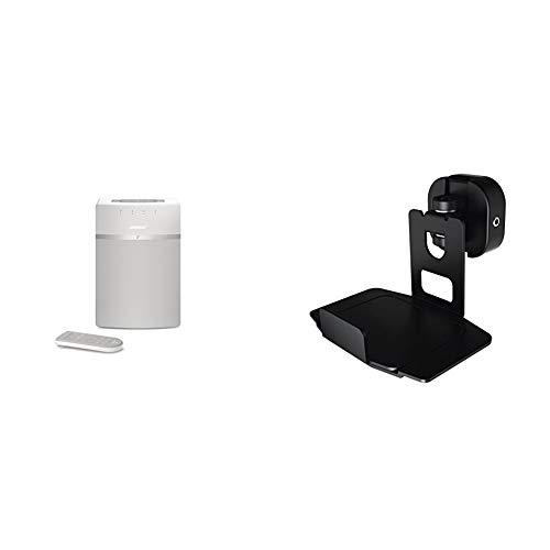 Bose SoundTouch 10 kabelloses Music System (geeignet für Alexa) weiß + Hama Wandhalterung, schwarz (Ii System Bose Music)