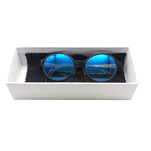 Giow Brille Kinder-Schutzbrille gegen Blau, strahlungsfestes und ermüdungsfreies Computer-Handy, TR-Silikon passt die Schläfen für Jungen und Mädchen von 3 bis 5 bis 8 Jahren optisch an